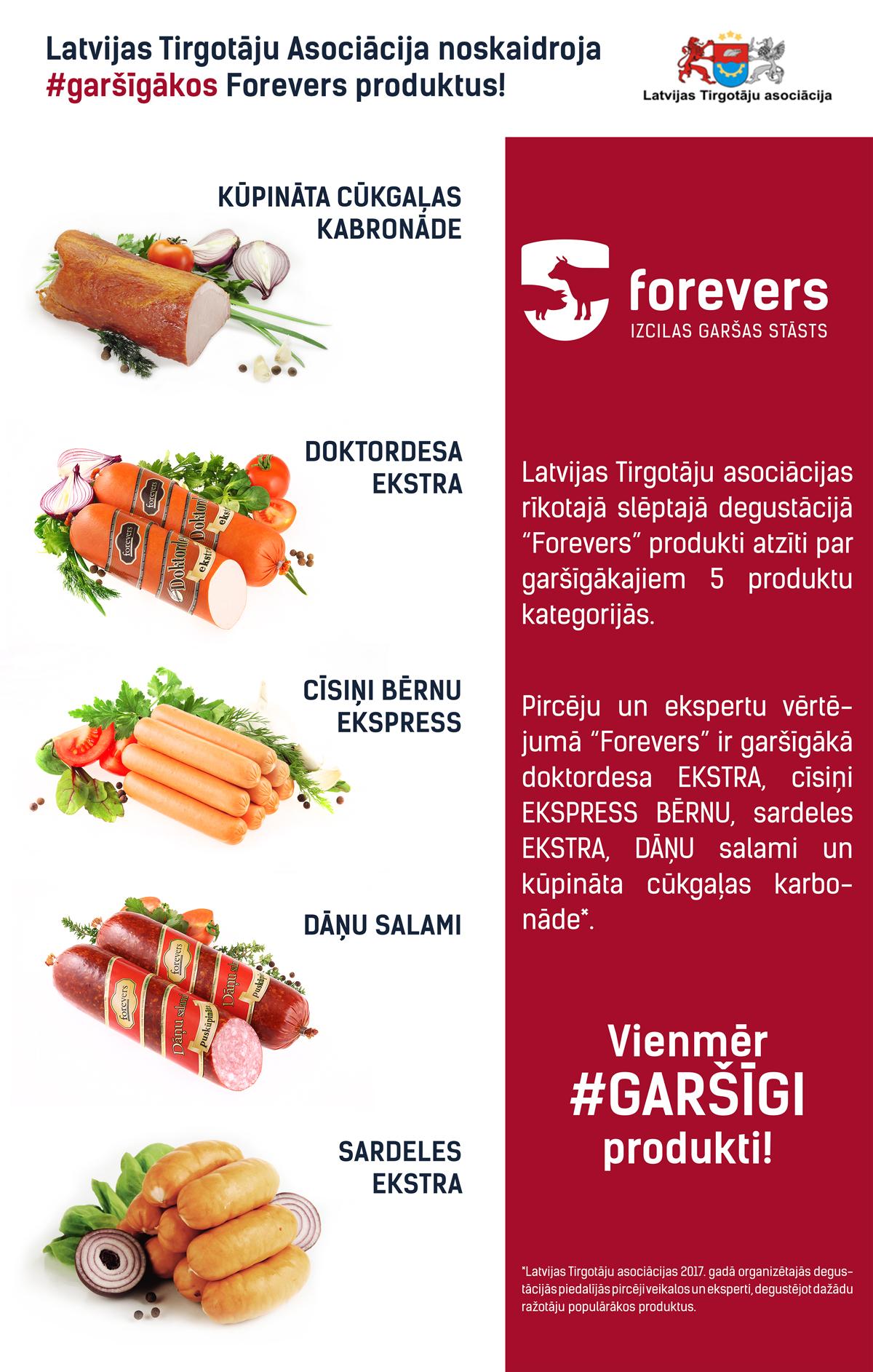Garšīgākie produkti   Forevers - lielākais gaļas produktu ...